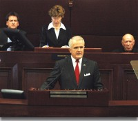 Nevada State Governor Jim Gibbon
